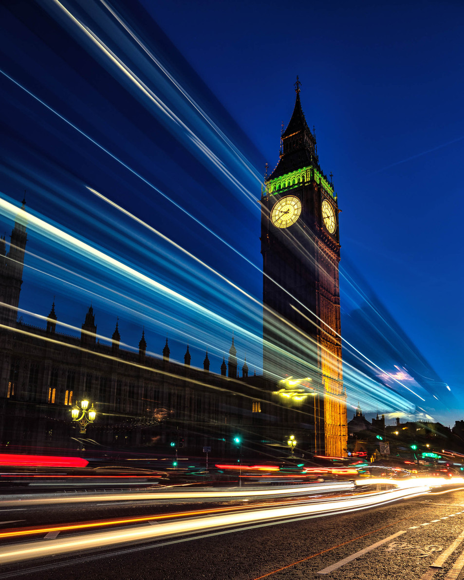 Zooming by Westminster