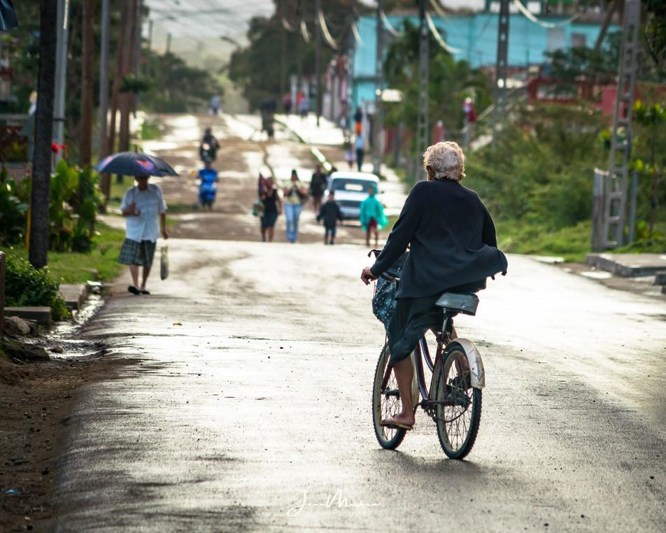 A Country Road in Cienfuegos