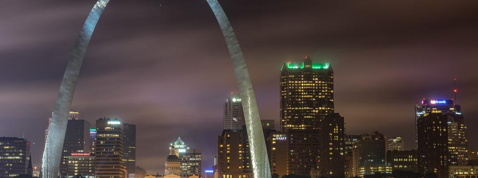 Arch in Fog
