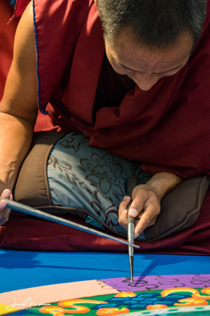 Tibetan Monks at Webster University 2017