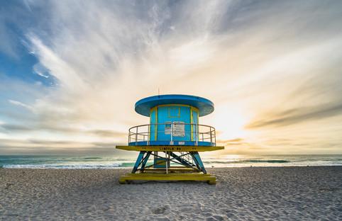 Miami Beach Lifeguard Tower - Lincoln Rd.