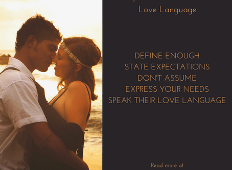 Speak Your Partner's Love Language