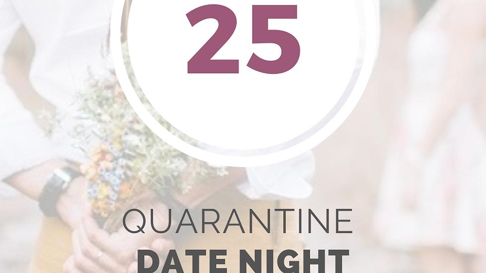 25 Quarantine Date Night Ideas