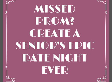 Make Your Senior's Prom An EPIC Experience They Will Always Remember!