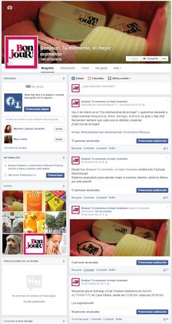 Facebook Bonjour