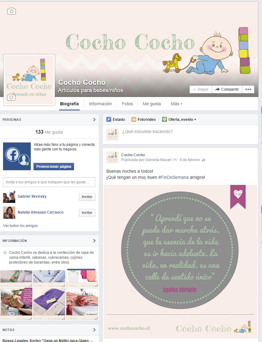 Facebook Cocho Cocho