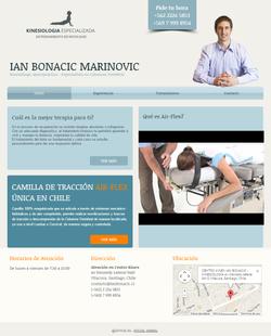 Kinesiólogo Ian Bonacic