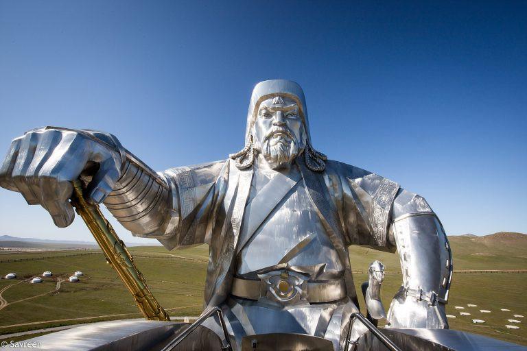 Genghis Khan or Chinggis Khan as he is known in Mongolia