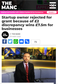 When You Take On The Government Alone... And Win £7.5 million for UK Businesses!