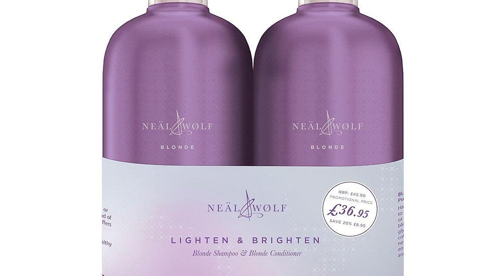 Neäl & Wølf Blonde Light & Brighten 950ML