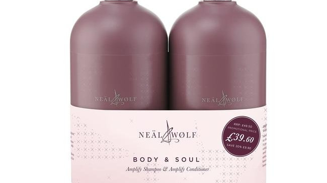 Neäl & Wølf Amplify Volumising Shampoo and Conditioner 950ml