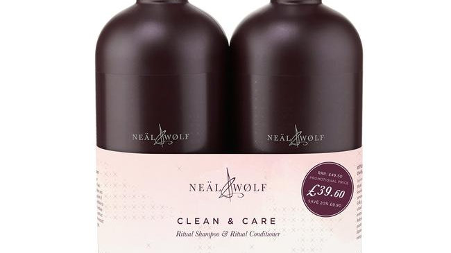 Neäl & Wølf Ritual Shampoo and Conditioner 950ml
