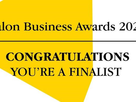 Finalist In The Salon Business Awards