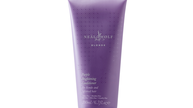Neäl & Wølf Blonde Purple Brightening Conditioner 200ml