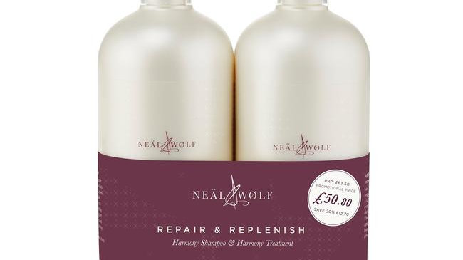 Neäl & Wølf Harmony Intensive Care Shampoo and Conditioner 950ml