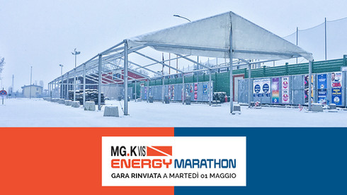 Energy Marathon MG.K.Vis rinviata al 1 Maggio 2018