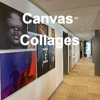 Canvas Collages