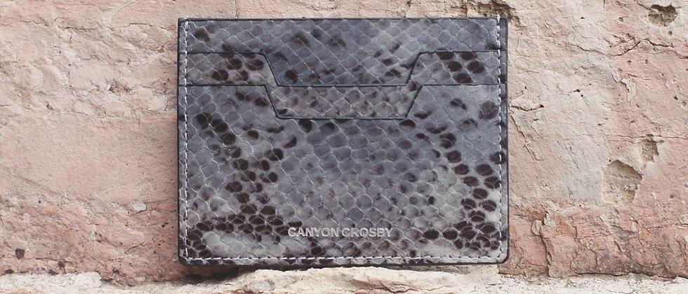 CANYON CROSBY // Slate Slim Card Case