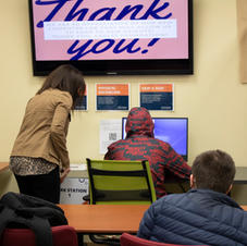Students showcase new technology