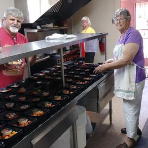 On Call Kitchen Volunteer (Linda, HR Director & Kitchen Volunteer) (Lea HR Secretary & Kitchen Volunteer) (Mario Kitchen & Special Events Volunteer)