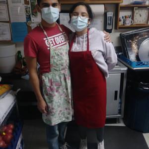 David and Claris (Sepcial Events Volunteers)
