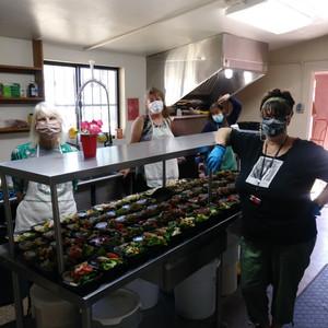 Friday Kitchen Crew (Wendy, Annette, Sheila)