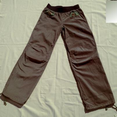 Pantalon Homme velours beige et imprimé taille M
