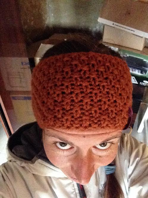 Cinta de lana marrón