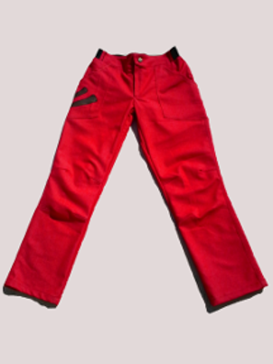 Jean stretch Homme rouge Taille L