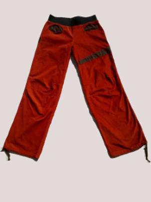 Pantalon Homme en velours brique Taille M