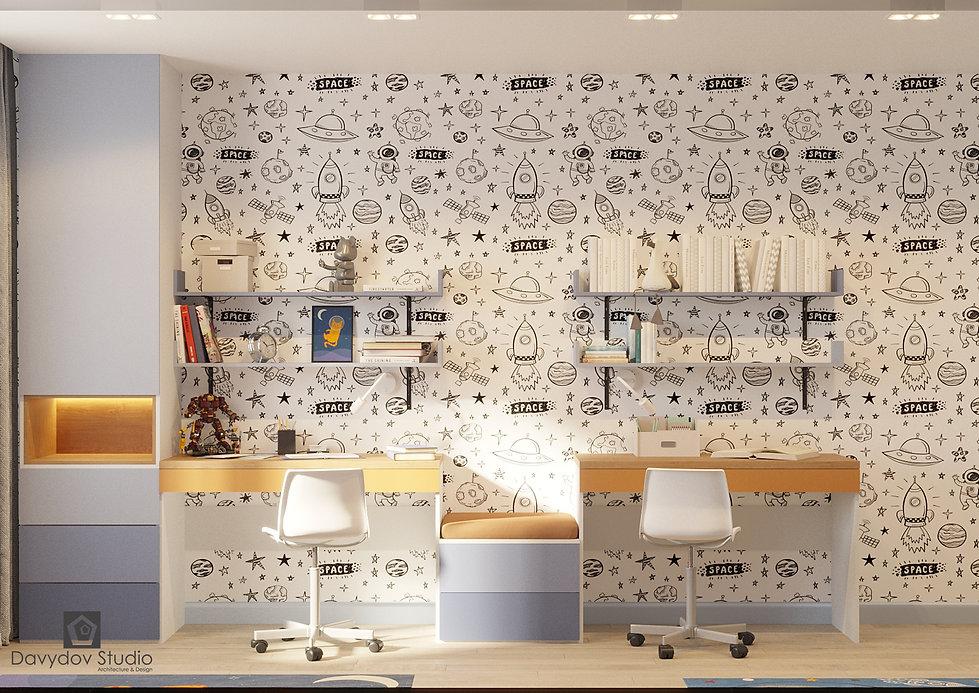 6 Дизайн интерьера детской комнаты девоч