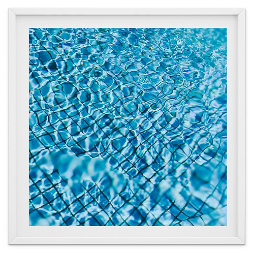 Sparkle - abstract swimming pool print or canvas wrap