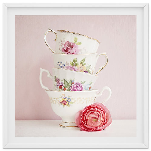 The Tea Cup Stack