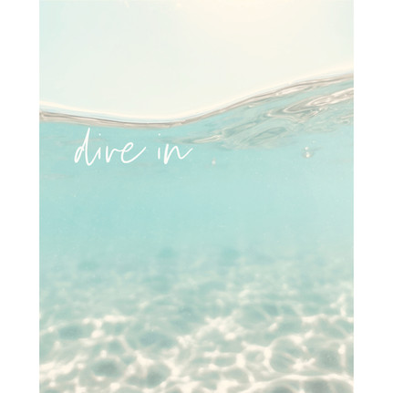 'Dive in'