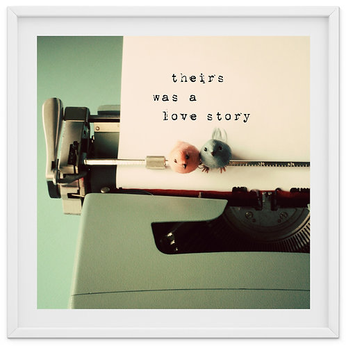 Theirs was a Love Story - print or canvas wrap