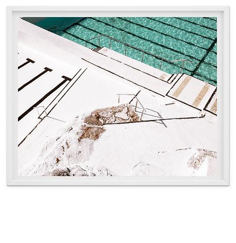 White Rocks - Bondi Icebergs Pool print or canvas wrap