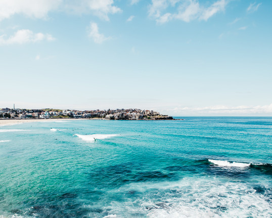 Bondi Surfers  - Bondi beach print