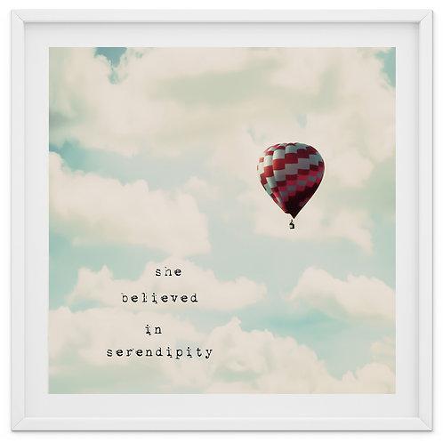 She Believed in Serendipity