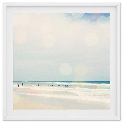 Beach Bokeh - print or canvas wrap
