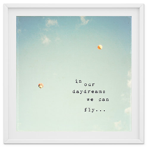 In our daydreams we can fly