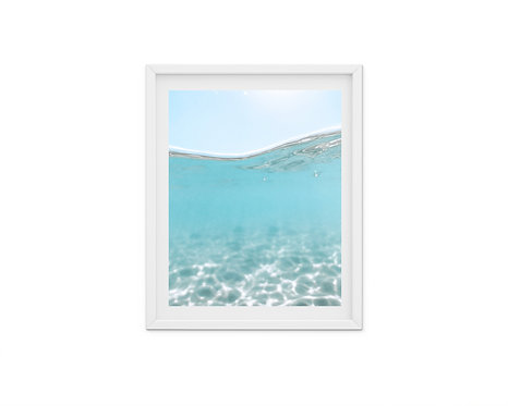 Immerse - ocean underwater photography print