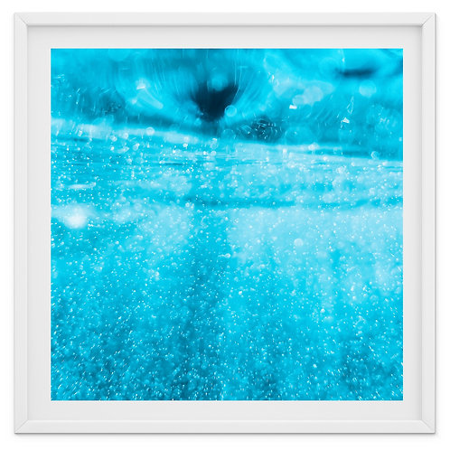 Enlightened - abstract swimming pool print or canvas wrap