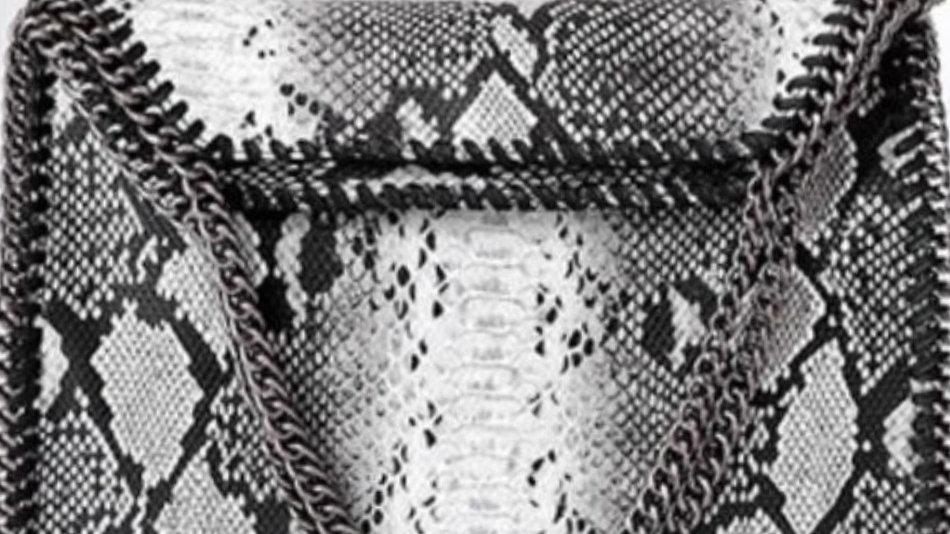 The Elise- Black and White Snake