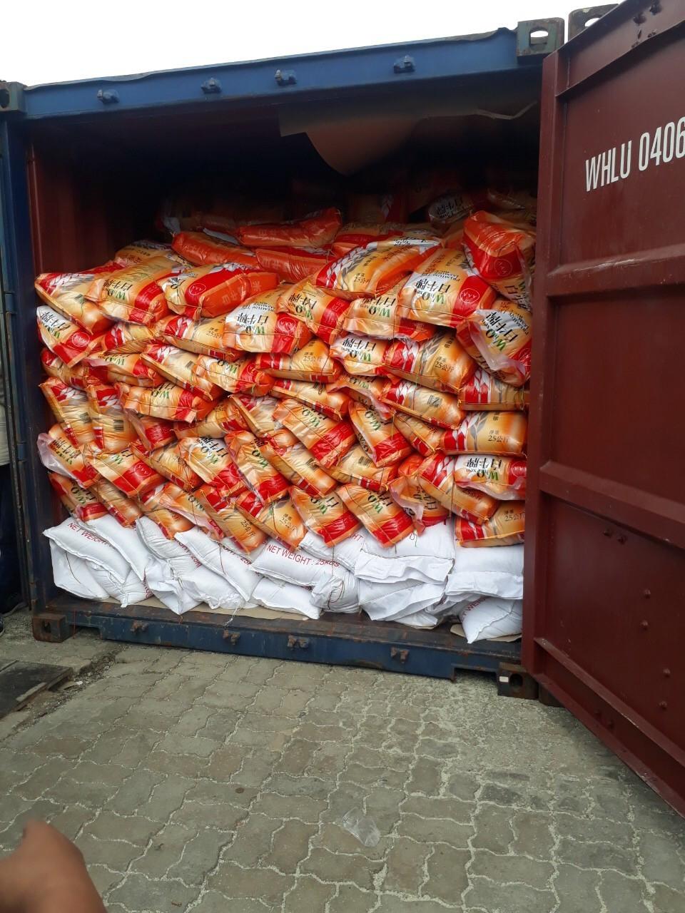 Shipment of WOY5 Premium Jasmine Rice