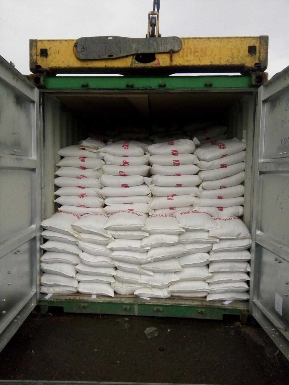 Shipment of KDM Old Crop
