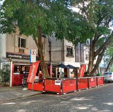 Parklet Chocólatras