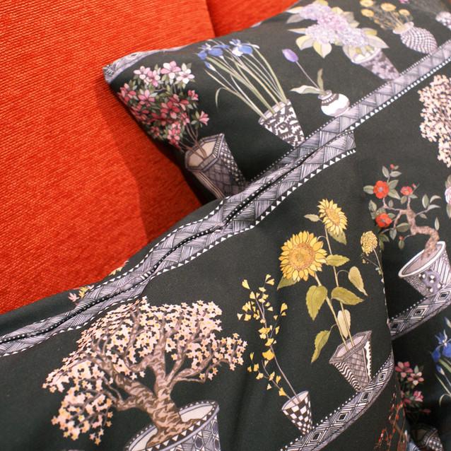 Designed 4 patterns for ecute Tachikawa, Tokyo