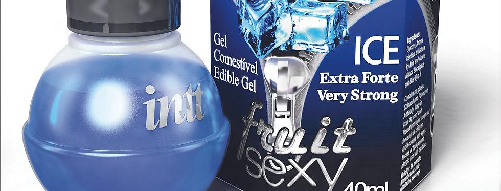 Gel Comestível Ice Extra Forte - Fruit Sexy Intt