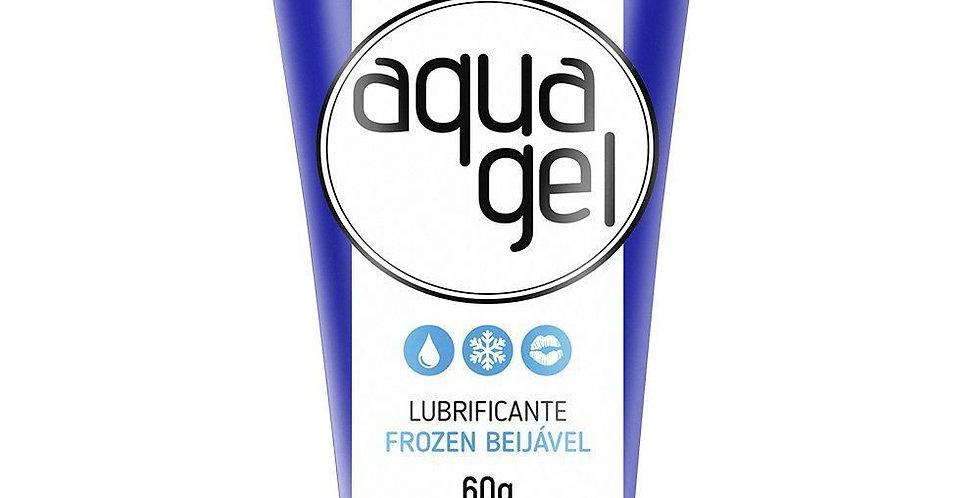 Lubrificante Aqua Gel Frozen - Sabor Menta