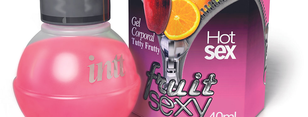 Gel Comestível Tutti-frutti - Fruit Sexy Intt